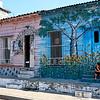 Neighborhood murals created by Trazos Libres community art project in Cienfuegos, Cuba
