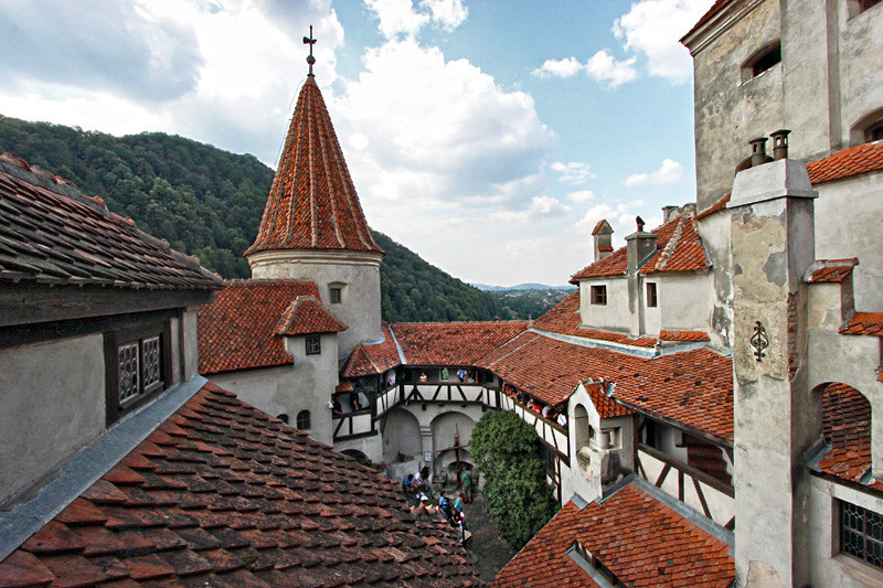 Despite the legend, Bran Castle in the Carpathian Mountains near Brasov was never home to Dracula