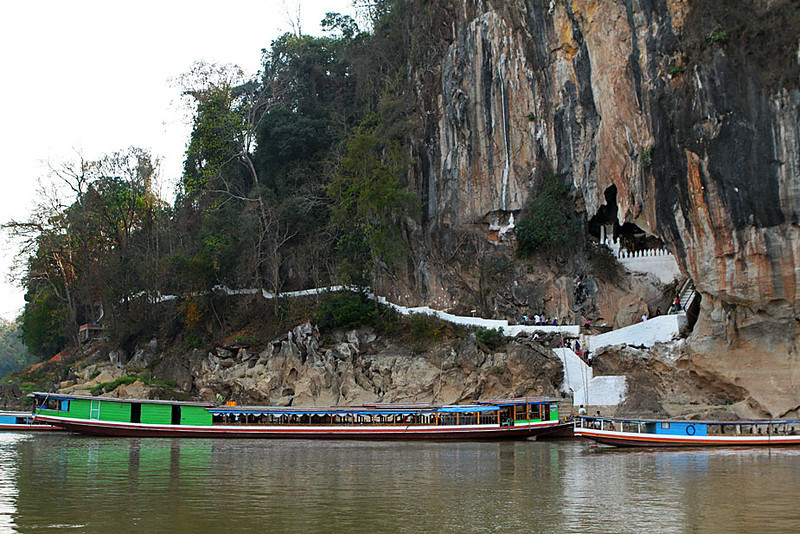 Pak Ou Caves, resting place for retired Buddha Statues in Luang Prabang, Laos