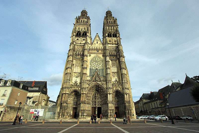 Cathedral in Tours, France