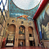 Main hall at the Salvador Dali Museum in Figueres, Spain