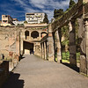The Palestra at Herculaneum, Italy, where sporting events were held