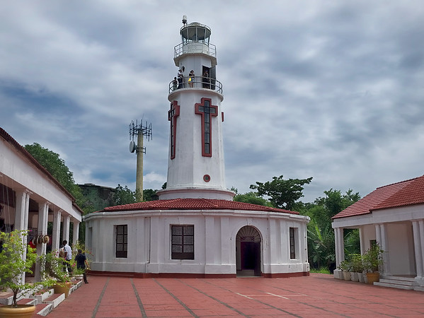 Corregidor Island Lighthouse on the island of Corregidor, at the entrance to Manila Bay in the Philippines