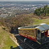Incline Railway, one of the steepest in the world, carries passengers to the top of Lookout Mountain for stunning views of Chattanooga and the Tennessee River