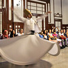 Sufi dancers in Istanbul known as Whirling Dervishes enter a trance-like state of prayer