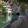 In the 16th century, the Ottoman Sultan ordered this Dervish House to be built at the source of the Buna River, which flows from the Karst limestone cliffs in Bugaj, Bosnia-Herzegovina