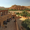 Ancient town of Kasbah Ait Benhaddou in the deserts of Morocco