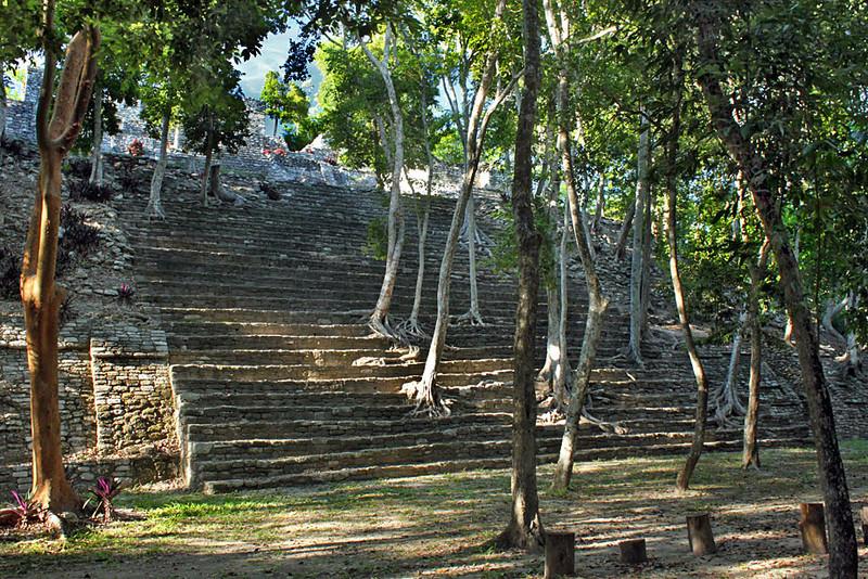 Kinichna Mayan Ruins in the southern Yucatan peninsula, Mexico