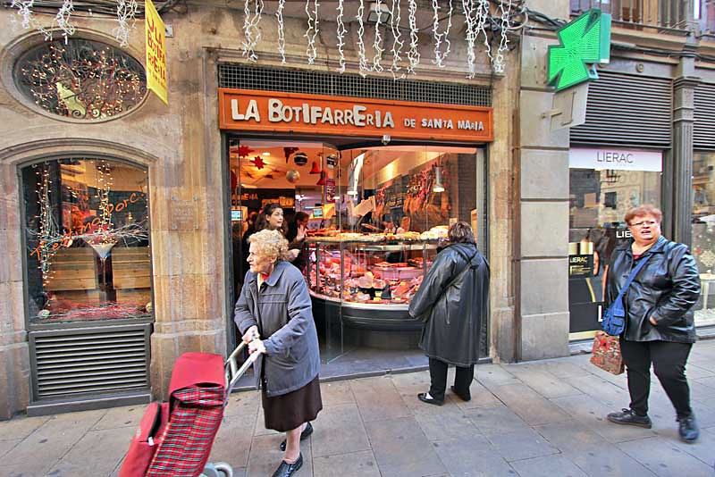 Botifarreria de Santa Maria sells sausages made with an incredible variety of ingredients