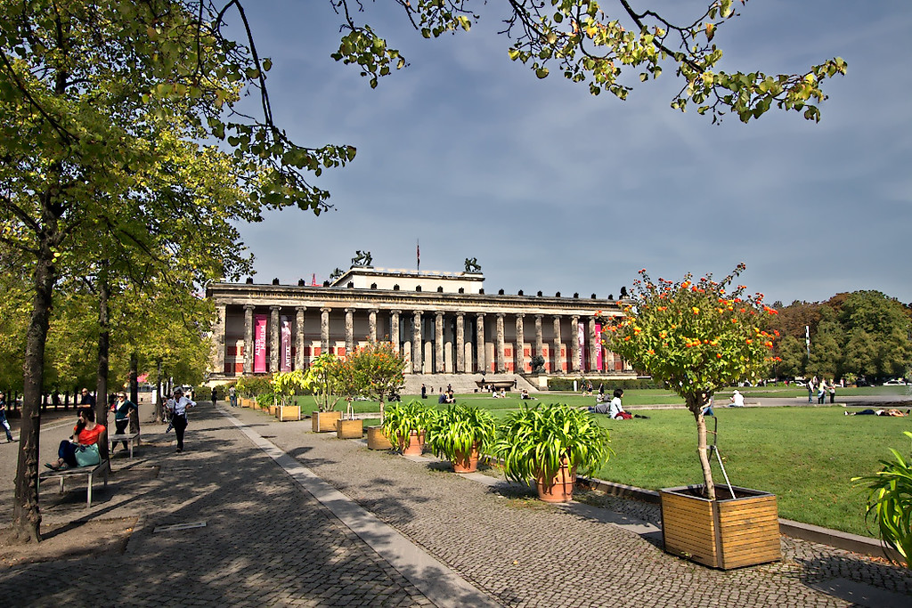 Altes Museum on Museum Island in Berln