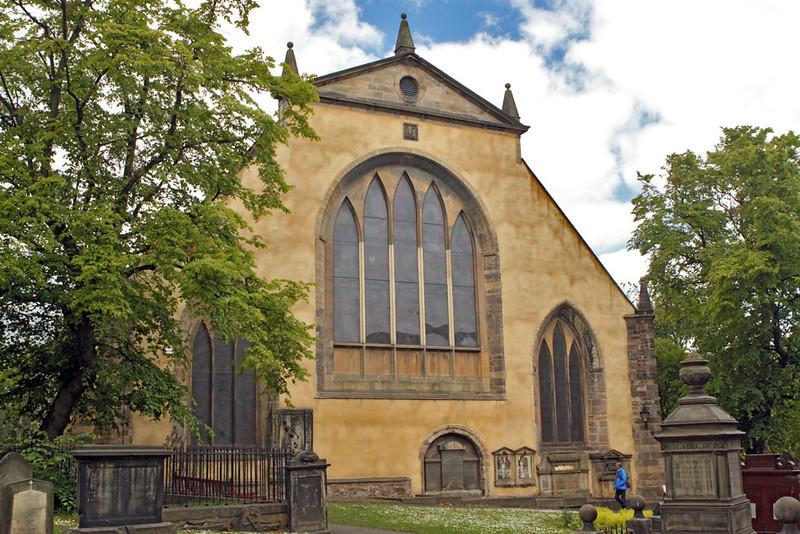Greyfriars Church in Edinburgh, Scotland