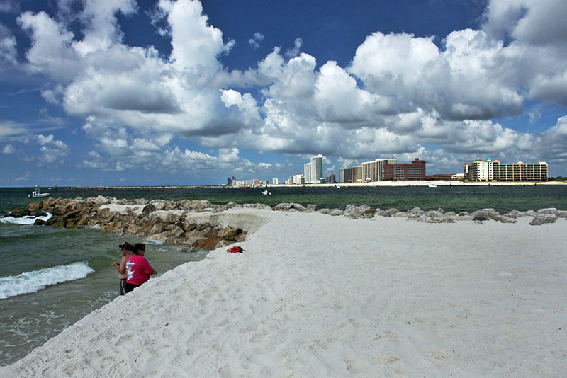 Florida Point Beach in Alabama