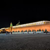 The Kremlin and Lenin's Tomb in Moscow's Red Square