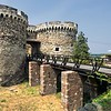 Belgrade Fortress in Kalemegdan Park in Belgrade, Serbia stood guard over the Danube River, the most important trading route in Medieval days
