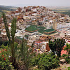 Moulay Idriss, Morocco, the fifth most important pilgrimage site in the world for Moslems