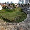 This Roman Amphitheater in Durres, Albania, the largest ever found in the Balkans, was discovered by a farmer who was plowing his fields