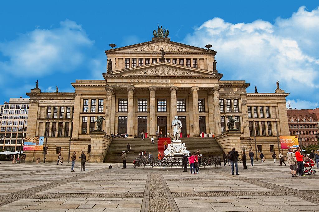 Konzerthaus Berlin at Gendarmenmarkt