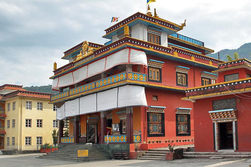 Jangchub Choeling Monastery at Tashi Palkiel Tibetan Refugee Settlement, near Pokhara, Nepal