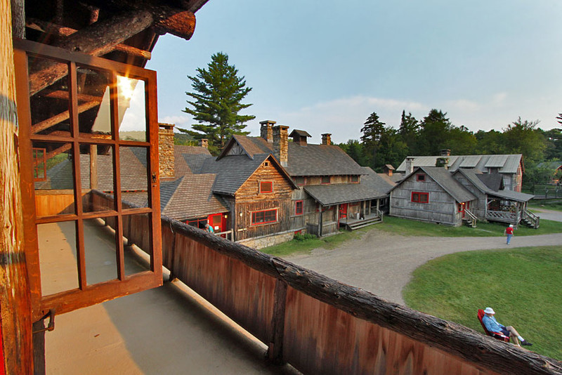Great Camp Sagamore in Raquette lake, Adirondacks, NY, was former Vanderbilt estate