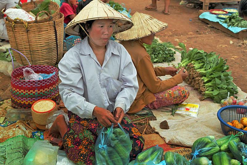 Market, Done Khone Island, southern Laos