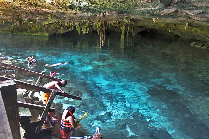 Dos Ojos Cenote in Puerto Aventuras, Yucatan peninsula, Mexico