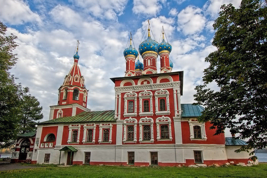 St. Dimitry of the Blood Cathedral in Uglich, Russia