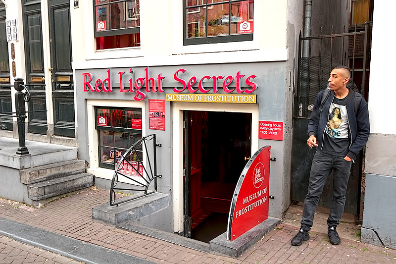 Of all the museums in Amsterdam, you might want to give this one in the Red Light District a pass