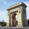 Arcul de Triumf in Bucharest was built to honor heroes of the Romanian War of Independence