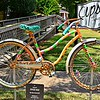 """BIKE RIDES IN MISSISSIPPI"" BICYCLE - Created by Edwark Moak"