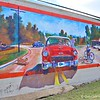 """THE CLASSICS ARE NEVER OUT OF DATE"" MURAL by Albert Smothers and Assisted by Mississippi College Students"
