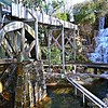 """WATER WHEEL and WATERFALL"""