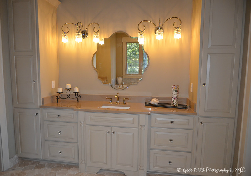 """OUR FAVORITE MASTER BATHROOM"""