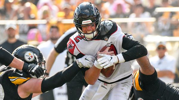 Falcons Steelers Football