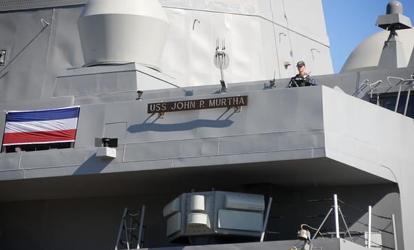 USS John P. Murtha   Commissioning   Media Day
