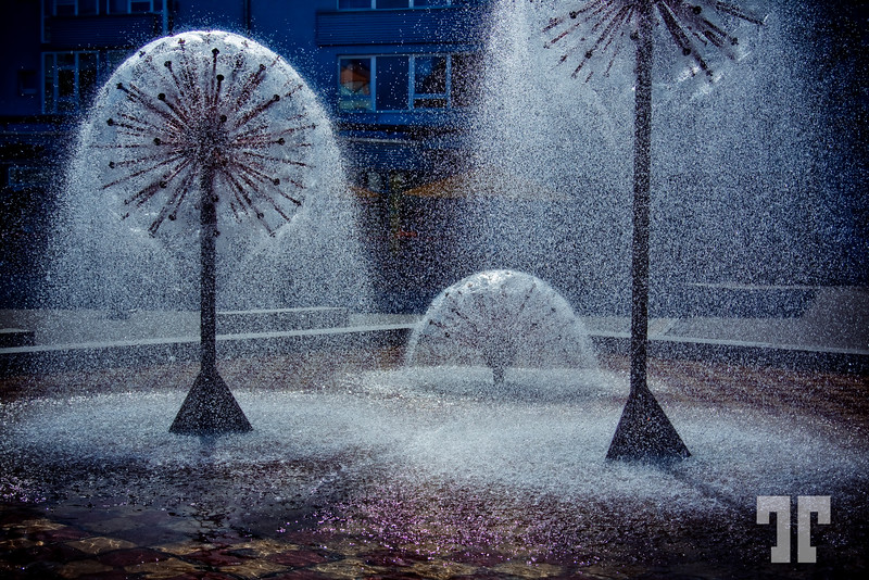 Water Fountain in Friedrichshafen, Germany - 13 April 09  WINNER!!! of the DSS23 contest: