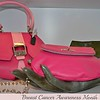 """PASSION PINK MODERN EXTRAVAGANZA HANDBAG"" and ""HEART PURSE IN PASSION PINK"" by Anya Sushko"