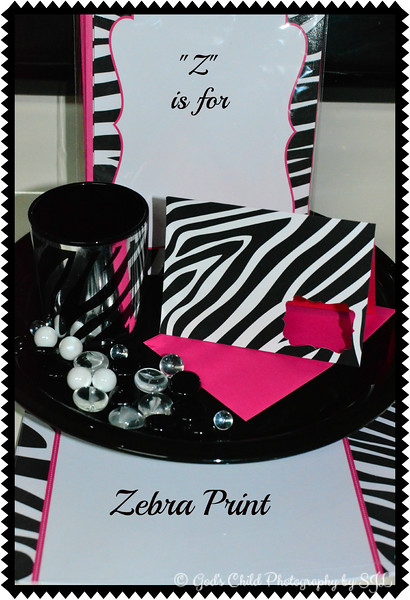 """Z"" is for ZEBRA PRINT"