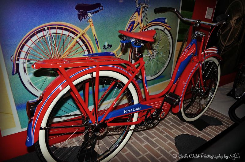 """HILLARY RODHAM CLINTON'S BICYCLE"""