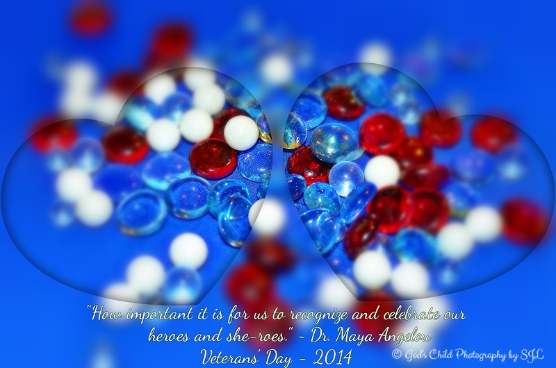 """""""THANKFUL HEARTS FOR VETERANS' DAY"""""""