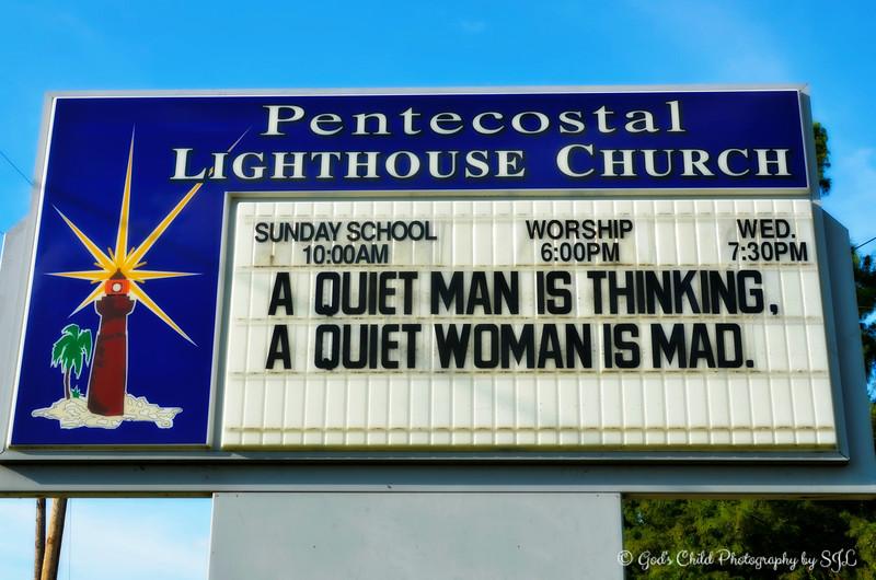 """""""A QUIET MAN vs A QUIET WOMAN"""""""