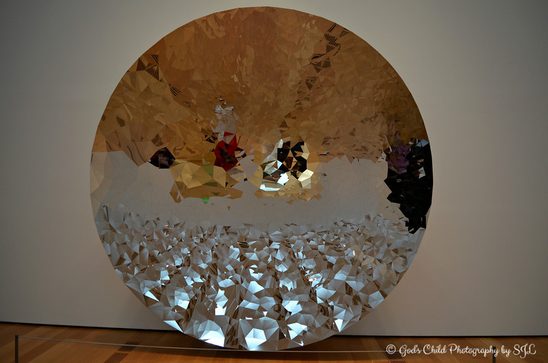 """UNTITLED - The Concave Dish"" by Anish Kapoor (2010)"