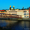 """RIVERBOAT AT LAKE FERGUSON"""