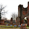 """RUINS OF ST. JOHN'S EPISCOPAL CHURCH AND EVERGREEN CEMETERY"""
