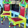 """HIS AND HERS THRONE CHAIRS"""