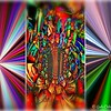"""""""LET THERE BE COLORS"""" Abstract Collage (The Metamorphosis)"""
