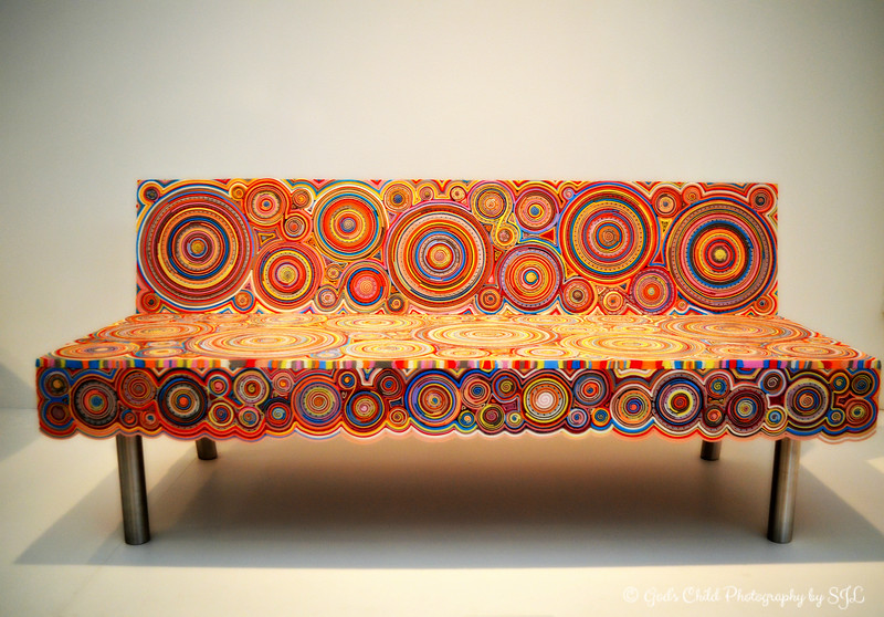 """SUSHI SOFA"" (designed 2010) by Fernando Campana and Humberto Campana"