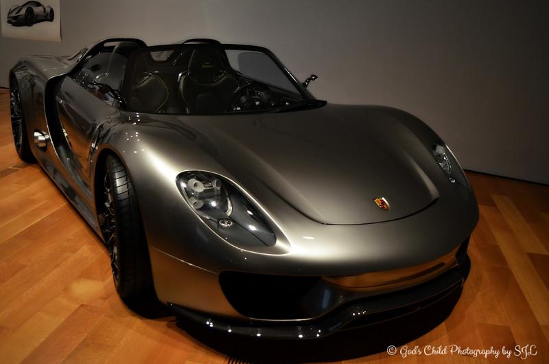 """""""PORSCHE 918 SPYDER CONCEPT"""" (2010)"""