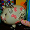 """LITTLE PRINCESS PIGGY BANK"""