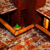 """Breaking News Story - Santa's Cover Blown by Elf!  Daily Photos  -  November 29, 2011   *Warning*   This breaking news story may be disturbing to children under the age of 10 and anyone sensitive to matters relating to Santa Claus. Reader discretion is advised...   Wonderland - 11/29/2011 With shock waves being felt around the world, the widely accepted notion that Santa lives in an overly whimsical house a the North Pole has now been found to be untrue! A rare elf sighting at the Wonderland Express now confirms that Santa and his entourage in fact live 20 minutes outside of Chicago in a model Frank Lloyd Wright house.   Speaking under the condition of anonymity, a representative from Santa's Office of Gift Requests from Ill-disciplined children & iNcident Control Hub (O-GRINCH) confirmed that an elf knowingly violated Santa's strict policy regarding non-access to the toy factory's upper-level balcony during the holiday season. The source stated that, """"peoples interest in trying to track down Santa during the holiday season increases exponentially, which is why access to the toy factory's highly-visible upper level balcony is only allowed during the slower off-season."""" The source continued by saying, """"we've had a couple of other close calls throughout the years, but nothing like this before. I'm not sure what Santa is going to do, but he's not happy!""""   O-GRINCH is working overtime to keep speculation to a minimum, but the rumors are already swirling about Santa looking at a total relocation of the toy factory.  """"All I can say at this point is that the elf has been placed on the naughty list, the elf equivalent of an administrative leave, pending further investigation,"""" said the unnamed source.   Check back for updates on our continuing coverage of this breaking story...      Thank you all so much for the nice comments on my posting from yesterday, <a href=""""http://www.eisenphotography.com/DailyPhotos/DailyPhotos/16663522_gG4Fwh#1606248249_V28S6S4-A-LB"""" title=""""All Ab"""