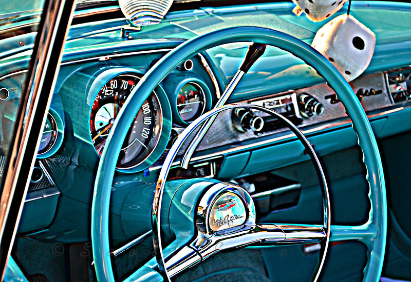 Chevrolet Bel Air - HDR<br /> <br /> Daily Photos  -  August 12, 2011